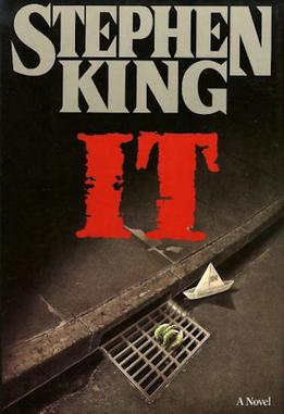 IT book cover, made in 1986