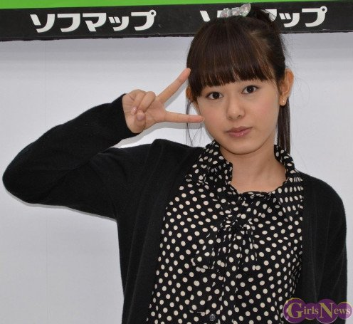 Kanna Arihara is seen here at a release event for her only solo photo book called Kanna.