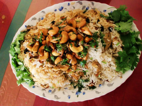 Delicious and tasty Plain Pulao