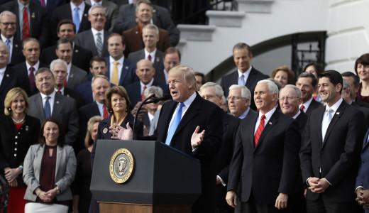 Republicans Celebrate Tax Reform