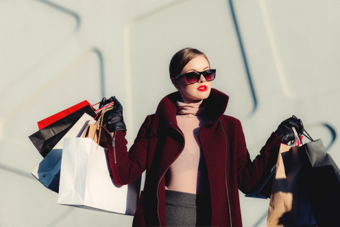 Is luxury shopping a need or want?