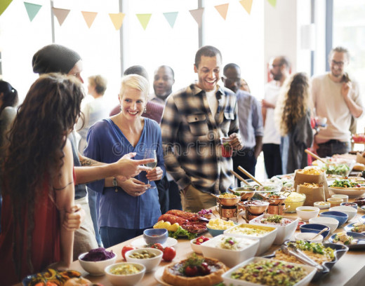 Although food safety guidelines are followed by most of the catering companies and huge restaurants, we don't know who follow those diligently and who don't, additionally, buffets at home gatherings and office parties don't always follow the rules.