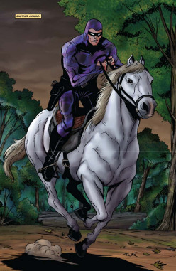The Masked Crusader from the African Jungles:the Phantom