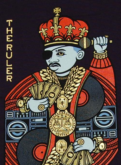 Rick the Ruler Poster