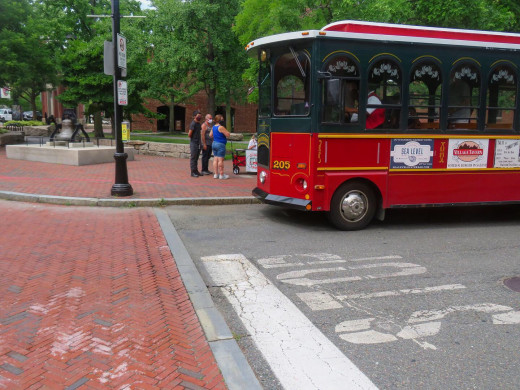 Trolley historic tour