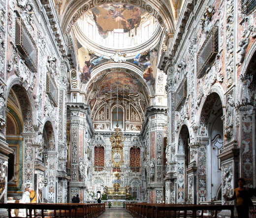 Church of St. Catherine, Palermo.
