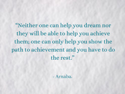 How to Achieve Your Dreams? A Writer's Guide to Success - Part 1