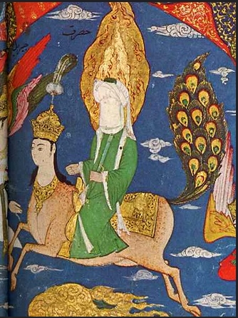 """The Buraq carried the prophet Muhammad from Mecca to Jerusalem and back during a one """"Night Journey"""", is it a miraculous creature or an alien spaceship?"""