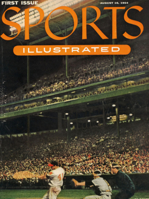 First Sports Illustrated Cover, August 1954.