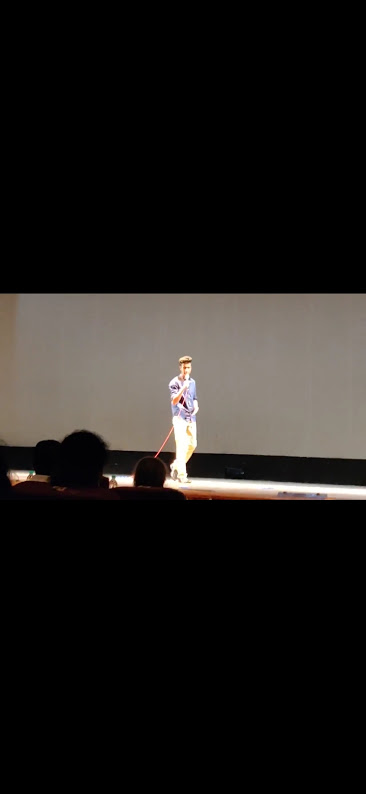 """I gave a talk about """"The Importance of Mental Health"""" in my college fest as Personality Contest Contestant"""
