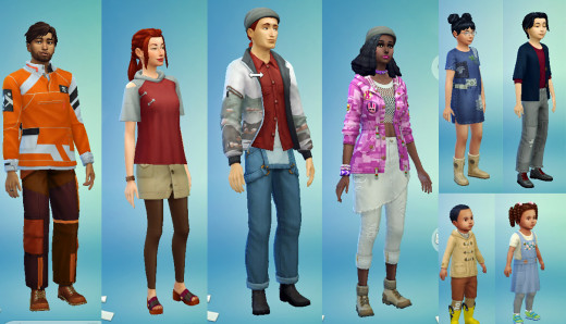 """If you were hoping for more casual looking styles, or clothes patched and safety-pinned together for your poor Sims, then """"Eco Lifestyle"""" will deliver."""