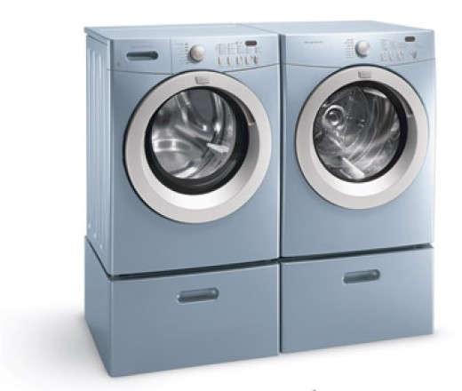 The Frigidaire Affinity Series Washer Dryer Combination is one of the most attractive units available.