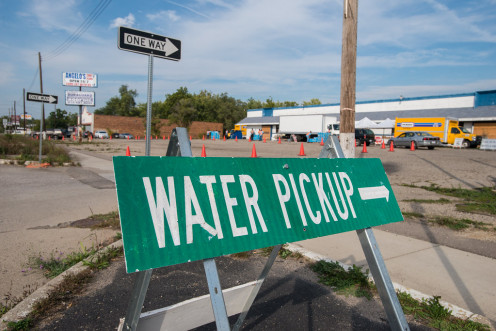 City of Flint water, filter distribution, and sample turn-in, on October 5, 2016.