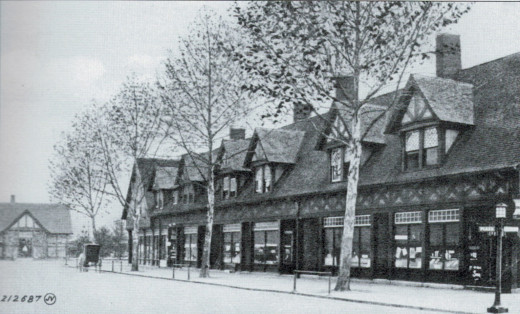 The Plaza Block of Biltmore Village, c. 1910