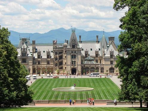 Biltmore Estate, Asheville, North Carolina, USA.