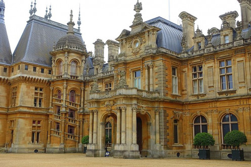 Waddesdon Manor - Buckinghamshire, England.