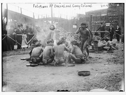 Igorot Village, St. Louis Fair 1904