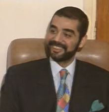 An actual photo of the real son of Saddam Hussain, Uday Hussain.
