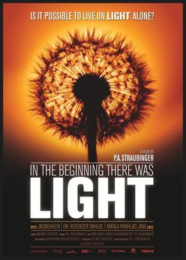 """Poster for Austrian Documentary """"In the Beginning There was Light""""."""