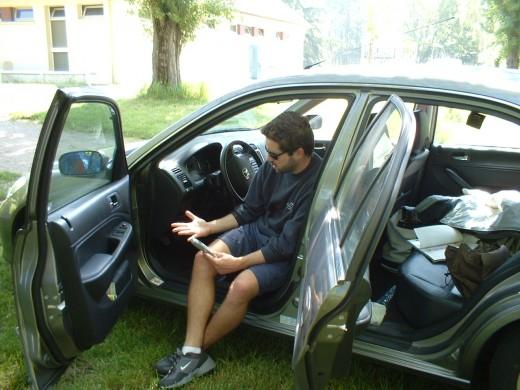 Me and my Honda Civic IMA