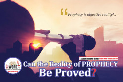 Can the Reality of Prophecy Be Proved?