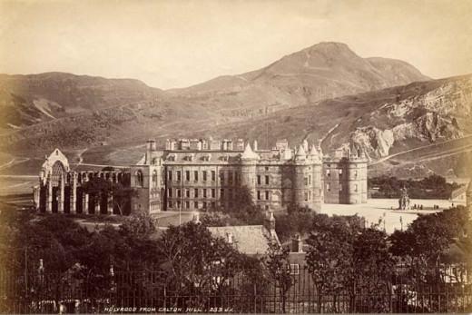 Holyrood Castle, 19th Century