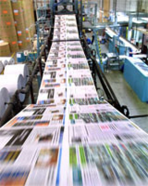 The presses roll.