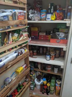 Pantry Organization - Putting Food in Order