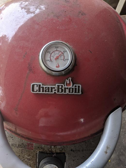 temperature of grill may drop slightly as door has been opened