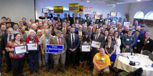 46th annual convention of the Libertarian Party of New York