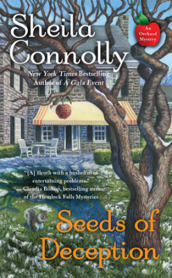 Book Review: Seeds of Deception by Sheila Connolly