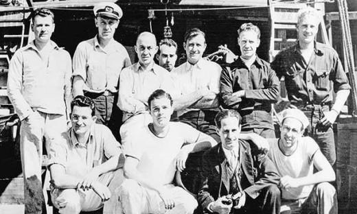 Crew of Sea Drgon