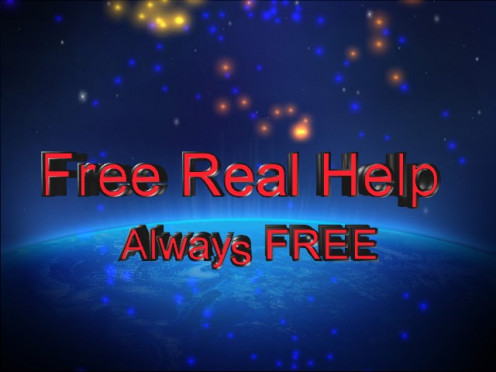 Free Real Help just got a new logo and look!
