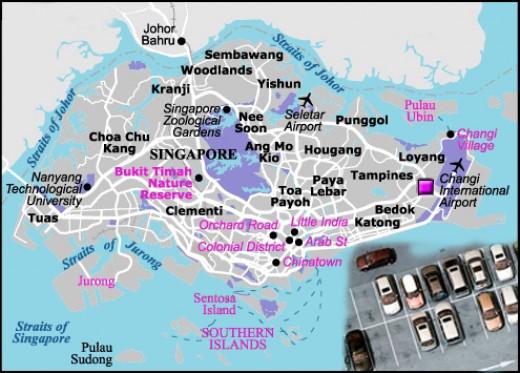 Car Rentals in Singapore
