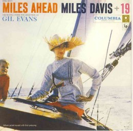 "The original cover of Miles Ahead which Miles objected to as ""irrelevant"""