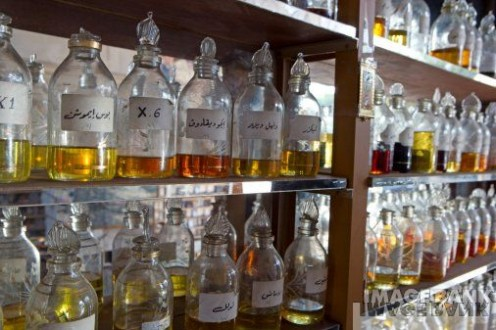 Perfume oils in Jordan (Courtesy of Getty Images)