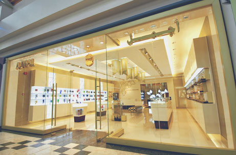 Ajmal perfume shop in Dubai