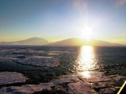 Mt. Terror, Erebus may be one of the sights you see while cruising Antarctica
