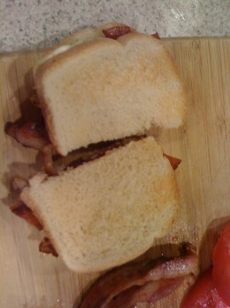 THE WORLDS GREATEST BLT SANDWICH