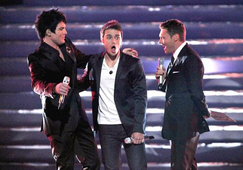 And the winner is...not Adam Lambert