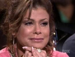 Abdul reacts to a performance on American Idol Season 8