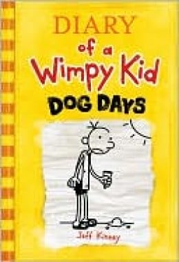 Dog Days - Diary of a Wimpy Kid - Top Ten Children;s Book
