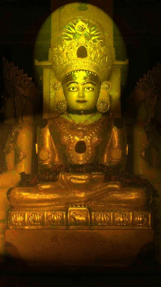Sri Adinath Rshabh Deva, Mulanayak, Agam mandir, Palitana Talheti