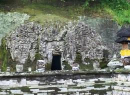 Goa Gajah, Cave Entrance