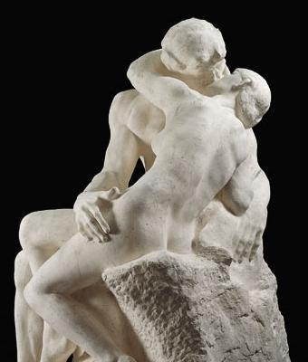 The Kiss, Auguste Rodin