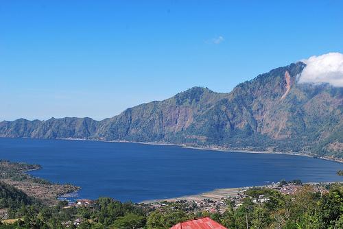 Batur Mountain Lake