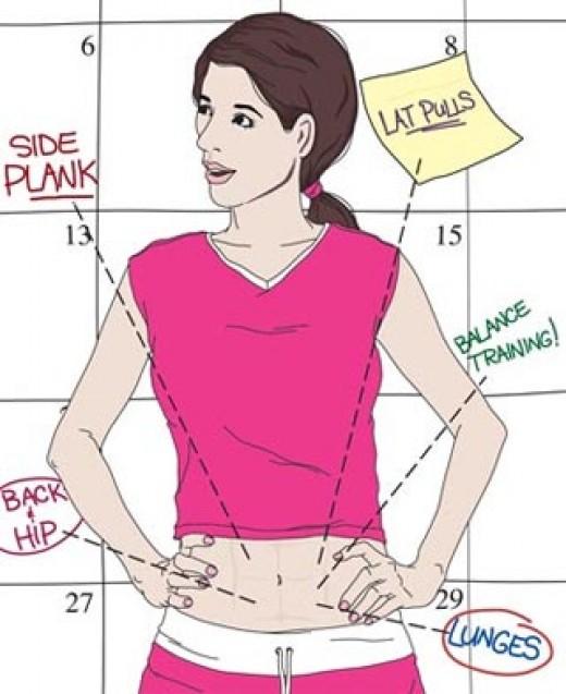 Best core training exercises