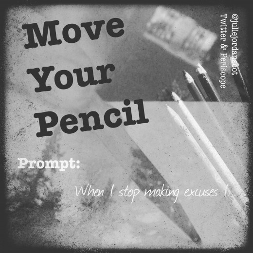 Use a writing prompt to help jumpstart your creative mind and undo Writer's Block.