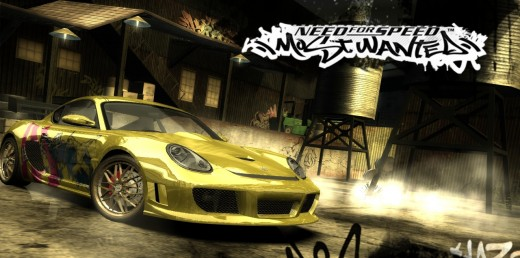 Yellow Porsche, need for speed