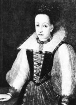 The only portrait of Elizabeth Bathory